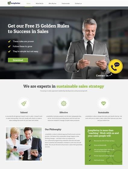 Motivation Speaker Website