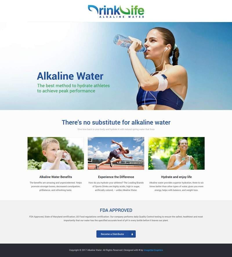 Alkaline Water Website