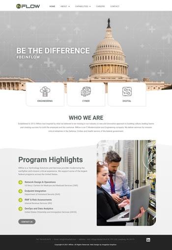 IT Staffing Website